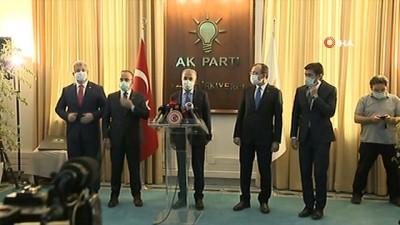 """siyasi partiler -  AK Parti Grup Başkanı Naci Bostancı: 'Seçim ve Siyasi Partiler Kanun Teklifi'ne ilişkin heyet oluşturuldu. Bu heyet çalışmalarına sürdürüyor. Aceleye getirilecek bir konu değil"""""""