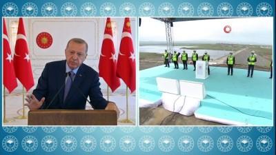 konferans -  Cumhurbaşkanı Erdoğan, Kars Barajı açılışına katıldı