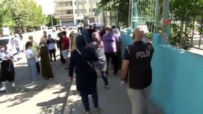 Diyarbakır'da öğrencilerin LGS heyecanı