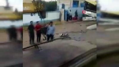 - Esad rejimi askerleri taşıyan otobüsün geçişi sırasında patlama: 3 ölü, 16 yaralı