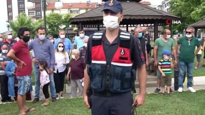 komando -  Zonguldak'ta atlı jandarma timi görevine başladı