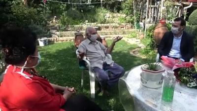83 yaşında ilk kez babalar gününü kutladı