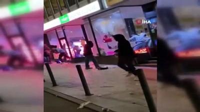 catisma -  - Almanya'da yüzlerce kişi mağazalara saldırdı - Polis ile eylemciler arasında çatışma çıktı