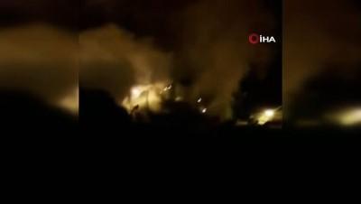televizyon -  Bilecik'te çıkan yangında 3 ev kül oldu, 4 kişi dumandan etkilendi