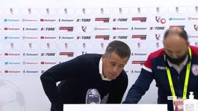 Boluspor - Altınordu maçının ardından