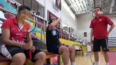 Milli sporcularda salonlara dönmenin mutluluğu