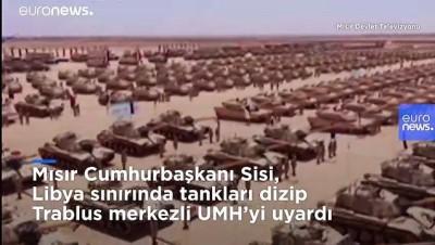 catisma - Mısır'dan Türkiye destekli Libya'ya 'kırmızı çizgi uyarısı: Doğrudan askeri müdahaleye neden olur