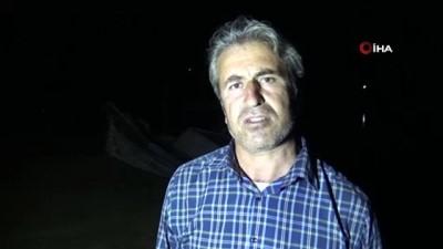 ziyaretciler -  Çizgili sırtlanı kurtarmak için gece yarısı seferber oldular