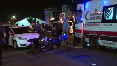 memur -  Diyarbakır'da motosikletli yunus polisleri kaza yaptı: 2 polis yaralı