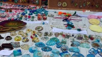 geri donusum -  'Kadın el emeği pazarı' açıldı