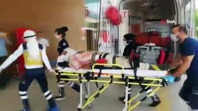 Kalıp çakarken ağır yaralanan işçi hayatını kaybetti