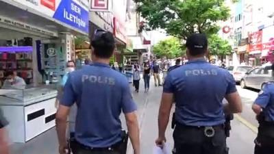 Kırıkkale'de 'maske' denetimi yapıldı