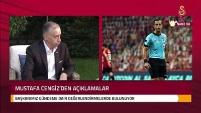 televizyon - Mustafa Cengiz: 'Aynı maçta rakip takım kalecisi 18 saniye topu tutmuş' -1-
