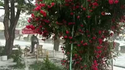 yagan -  Yozgat'ta etkili olan yağmur ve dolu yağışı hayatı olumsuz etkiledi