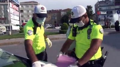 Bağcılar'da fazla yolcu alan minibüsçüye ceza