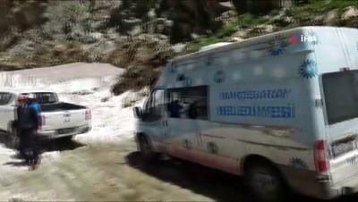 yagan -  Bahçesaray'da Haziran ayında karla kapanan yayla yolları açılıyor