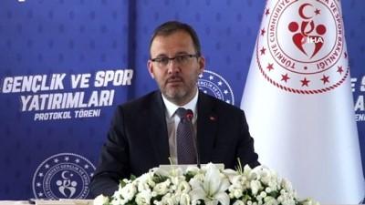Bakan Kasapoğlu: 'Bugün Sinop'umuz için önemli yatırımları imzalayacağız'