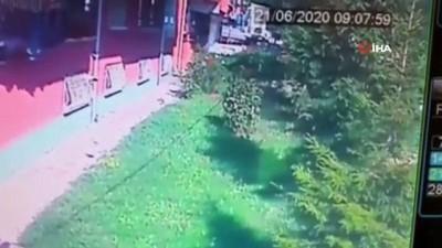 saglik ekibi -  Başkent'te 4'üncü kattan düşen çocuk ağır yaralandı... O anlar kamerada