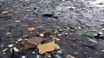 siddetli yagis -  İznik Gölü'nde korkutan kirlilik