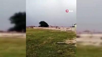 siddetli yagis -  Yunak'ta şiddetli yağış sele neden oldu