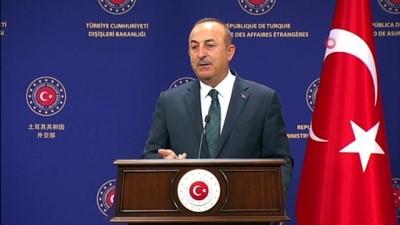 """Dışişleri Bakanı Çavuşoğlu: 'Macron, tehlikeli bir oyun oynuyor"""""""