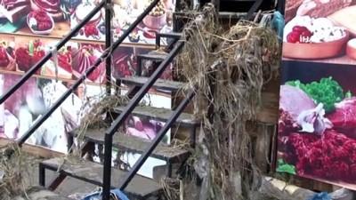 siddetli yagis -  Esenyurt'ta selin verdiği hasar gün ağarınca ortaya çıktı