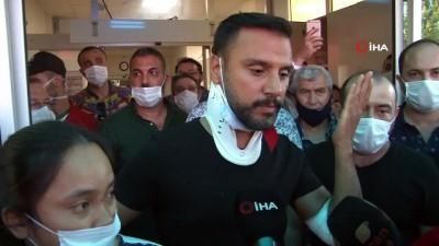 sarkici -  Kaza yapan şarkıcı Alişan, ailesiyle birlikte hastaneden taburcu oldu