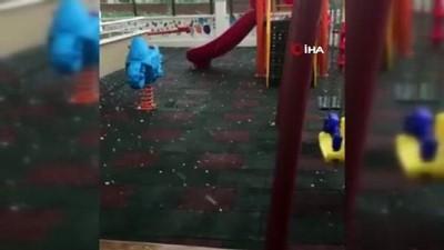 Tokat'ta dolu yağışı su taşkınlarına neden oldu