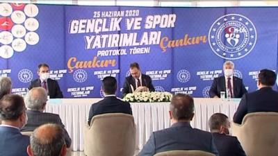 genclik merkezi - Gençlik ve Spor Bakanlığı'ndan Çankırı'ya 32 milyon TL'lik yatırım