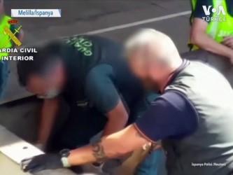 ispanya - Kaçak Göçmenler Hurda Kamyonunda Bulundu