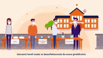 ÖSYM Başkanı Aygün'den YKS öncesi bilgilendirici animasyon