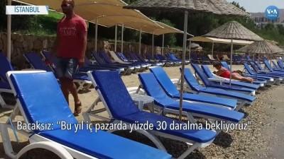 yabanci turist - Türkiye'de Turizm Sektörü Sonbaharda Toparlanma Bekliyor