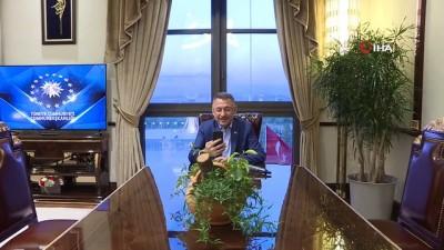 Cumhurbaşkanı Yardımcısı Oktay, Yozgat'taki programında kendisiyle görüşemediği için gözyaşı döken Burak Mert Baştürk'ü telefonla aradı