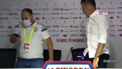 devre arasi - Hüseyin Eroğlu: 'Hak etmediğimiz bir mağlubiyet aldık' - Serkan Özbalta: 'Play-off şansımızı son maça kadar zorlayacağız'