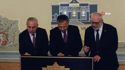 Kapalıçarşı restorasyon protokolü imzalandı