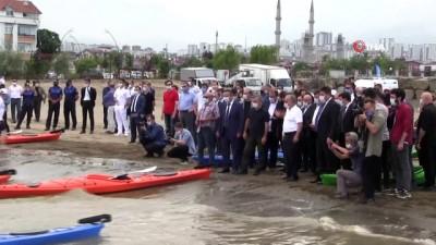 milli sporcular - Ordu'da kano ve yelken sporu tesisi açıldı