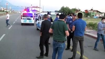 Aksaray'da tüfekli köpek kavgası: 1 yaralı