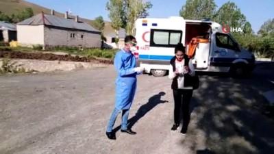 karantina -  Annesi korona virüs hastası öğrenci özel tedbirlerle sınava alındı