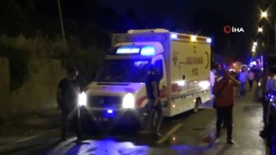 polis araci -  Aynı aileden 5 kişinin öldüğü bombalı saldırının faili, noterde işlem yaparken yakalandı