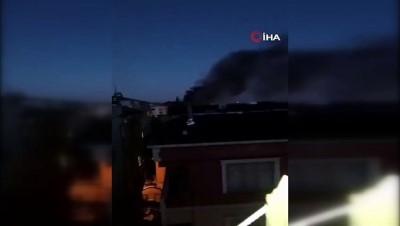 yangina mudahale -  Bahçelievler'de bir binada patlama meydana geldi