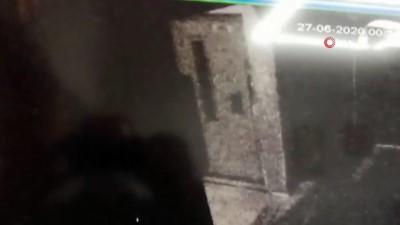guvenlik kamerasi -  Bahçelievler'de yaşanan patlama  anı kamerada