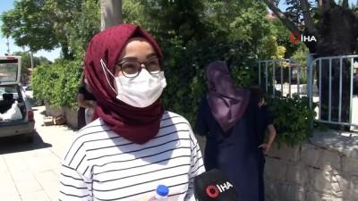 Konya'da YKS'nin ilk oturumu sona erdi