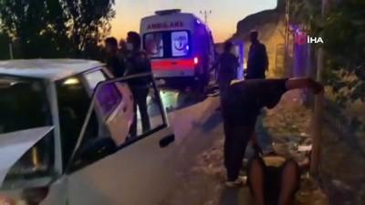 Şanlıurfa'da trafik kazası : 5 yaralı