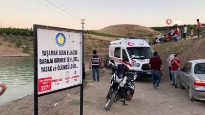 Serinlemek için arkadaşıyla Atatürk Barajı'na giren genç boğularak hayatını kaybetti