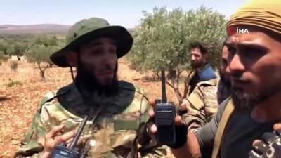 catisma -  - SMO ile YPG/PKK'lı teröristler arasında şiddetli çatışma