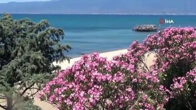 yabanci turist -  Sokağa çıkma yasağına genelde turistler de uydu, sahiller boş kaldı