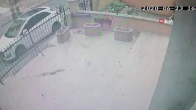 guvenlik kamerasi -  Sokak ortasında avukata silahlı saldırı kamerada