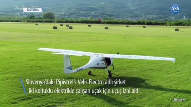 caga - Elektrikle Çalışan Uçağa Uçuş İzni