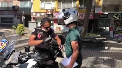 kimlik karti -  Kimliğini unutan öğrenciyi motorlu polis sınava yetiştirdi