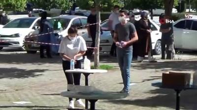 Kütahya'da YKS'nin ikinci oturumu AYT başladı